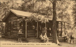 Camp Store, Camp Kiwanis, Camp Fire Girls