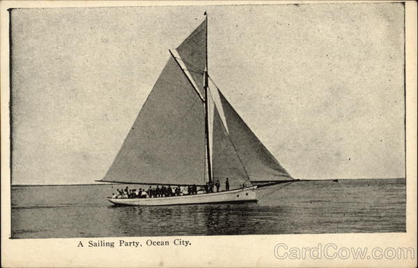 A Sailing Party Ocean City New Jersey