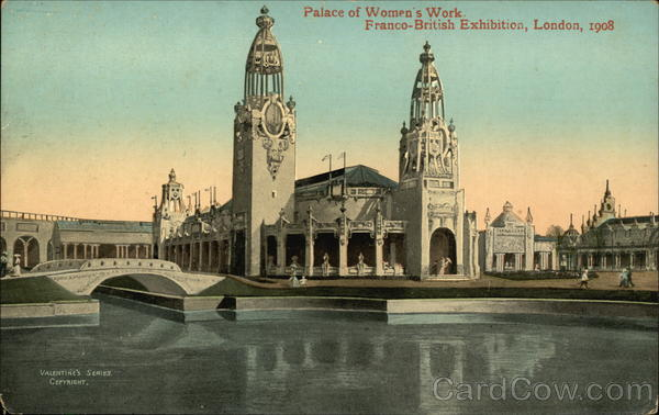 Palace of Women's Work London England Exposition