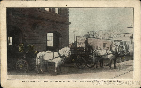 Reily Hose Co. No.10 Harrisburg Pennsylvania Firemen