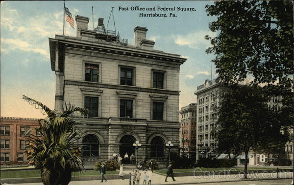 Post Office and Federal Square Harrisburg Pennsylvania