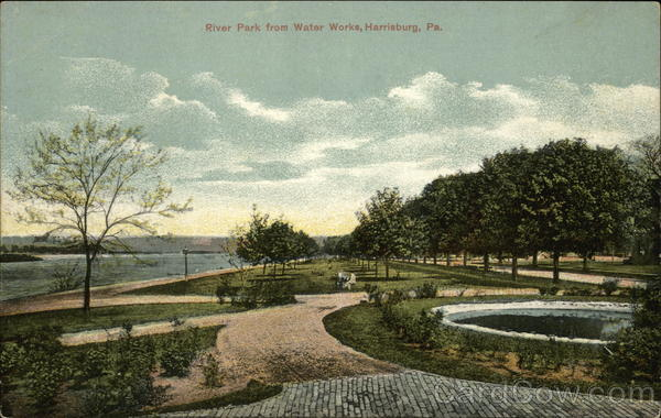 River Park from Water Works Harrisburg Pennsylvania