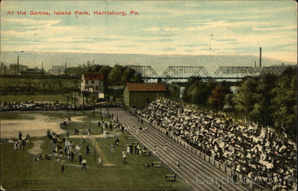 At The Games, Island Park Harrisburg Pennsylvania Baseball