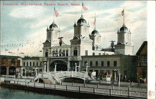 Entrance to Wonderland Revere Beach Massachusetts