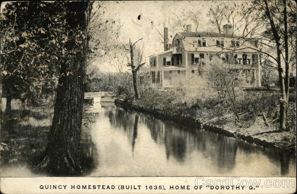Quincy Homestead, Home of Dorothy Q Massachusetts