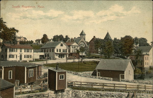 View of South Royalston Massachusetts