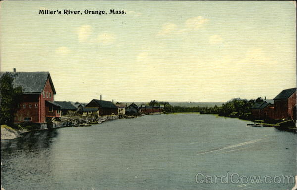 Miller's River Orange Massachusetts