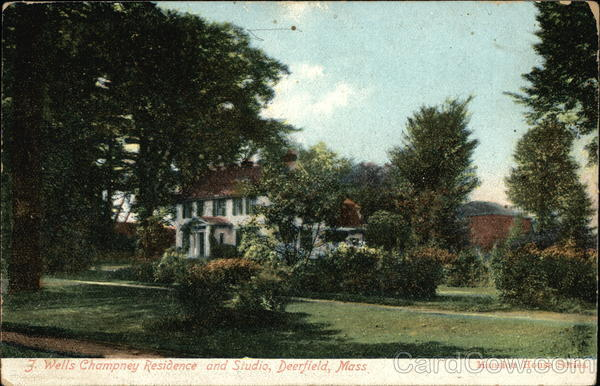 J. Wells Champney Residence and Studio Deerfield Massachusetts