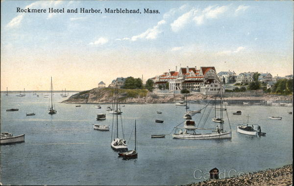 Rockmere Hotel and Harbor Marblehead Massachusetts