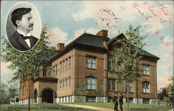 The Whitman School and Principal Brockton Massachusetts