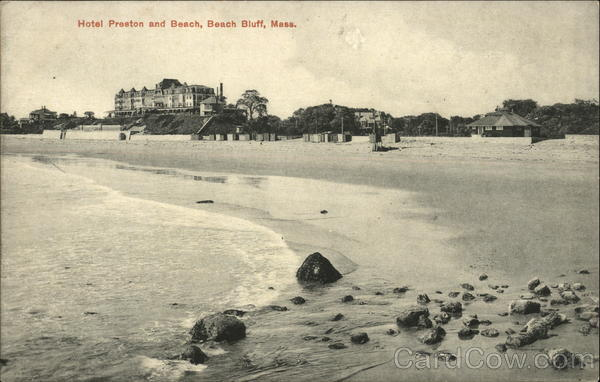 Hotel Preston and Beach, Beach Bluff Swampscott Massachusetts
