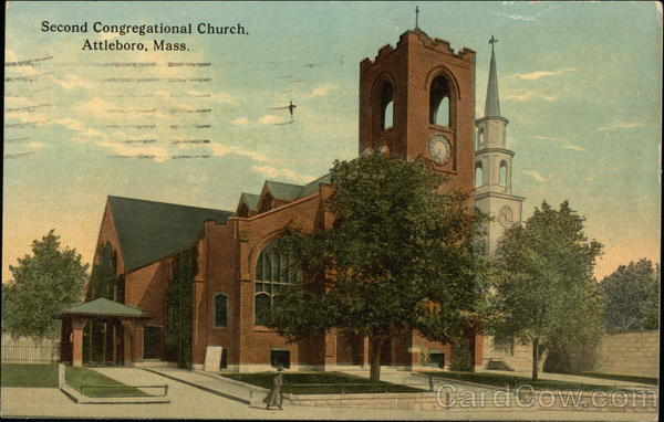 Second Congregational Church Attleboro Massachusetts