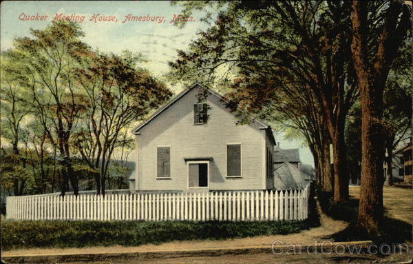 Quaker Meeting House Amesbury Massachusetts