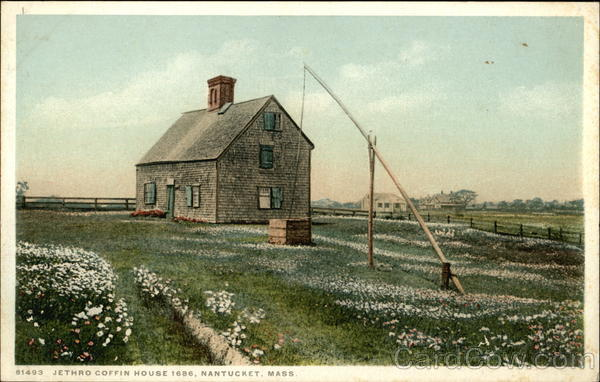 Jethro Coffin House 1686 Nantucket Massachusetts