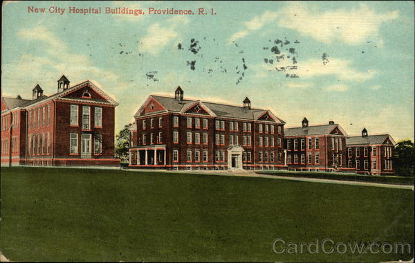 New City Hospital Buildings Providence Rhode Island