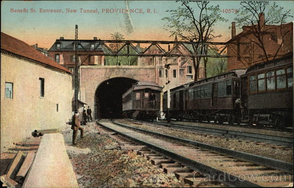 Benefit Street Entrance, New Tunnel Providence Rhode Island