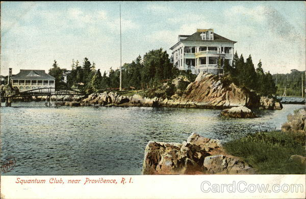 Water View of Squantum Club Providence Rhode Island