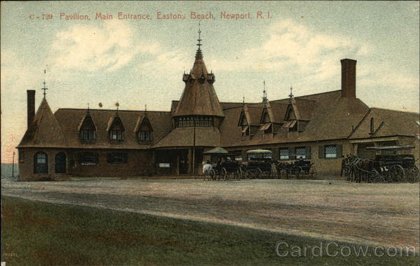Pavillion, Main Entrance, Easton Beach Newport Rhode Island