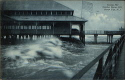 Youngs Pier - October Storm 1903