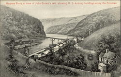 Harpers Ferry at Time of John Brown's Raid