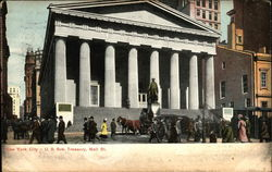 U. S. Sub Treasury, Wall St