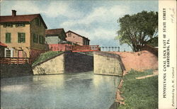 Pennsylvania Canal Lock East of State Street