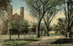 Washington Square, North Side and Second Church