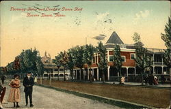 Parkway Hotel and Condit's Dance Hall Postcard