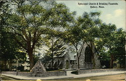 Episcopal Church and Drinking Fountain
