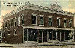Post Office, Mattawa Block