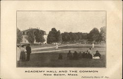 Academy Hall and The Common