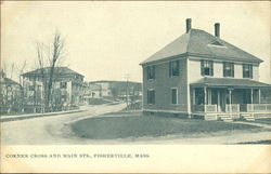 Corner Cross and Main Streets, Fisherville