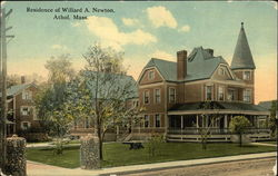 Residence of Willard A. Newton