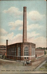 Power Plant of L. S. Starrett Co