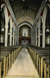 Church of Our Lady Immaculate - Interior