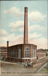 Power Plant of L.S. Starrett Co