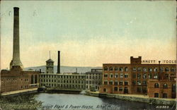 Glimpse of the LL Starrett Plant & Power House