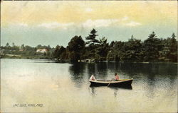 Row Boat on Lake Ellis