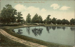 Highland Cemetery, The Pond
