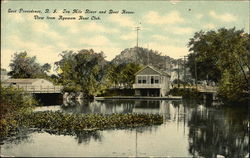 Ten Mile River and Boat House
