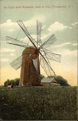 An Eight-Arm Windmill - Built in 1812