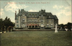 Ochre Court, Residence of Mrs. Ogden Goelet