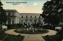 Rosecliff, Residence of Herman Oelrich