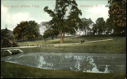 The Pond at Wilcox Park