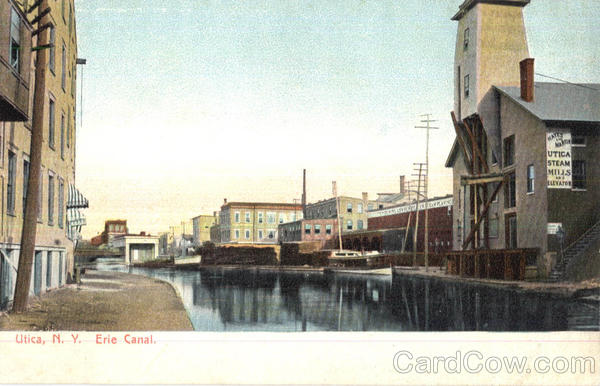 Erie Canal Utica New York