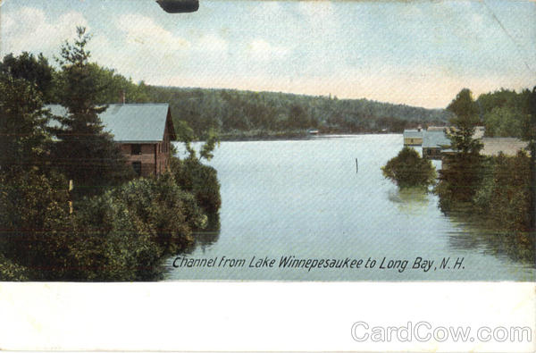 Channel From Lake Winnepesaukee To Long Bay New Hampshire
