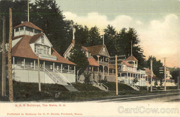 G. A. R. Buildings Weirs Beach New Hampshire