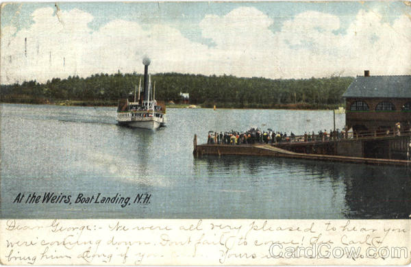 Boat Landing Weirs New Hampshire