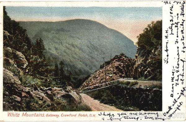 Gateway Crawford Notch White Mountains New Hampshire