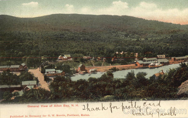 General View Of Alton Bay New Hampshire